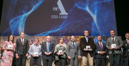 SAGOLA recibe el homenaje de SEA Empresas Alavesas