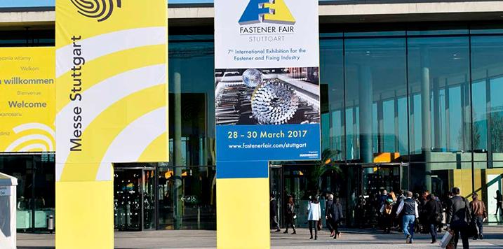 Convocatoria participación agrupada en la feria Fastener Fair Stuttgart